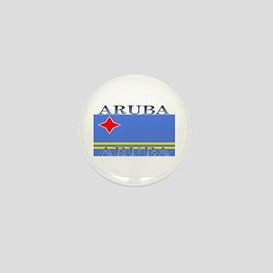 Aruba Aruban Flag Mini Button