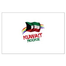 Kuwait Rocks | Large Poster