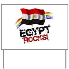 Egypt Rocks | Yard Sign