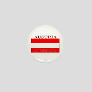 Austria Austrian Flag Mini Button