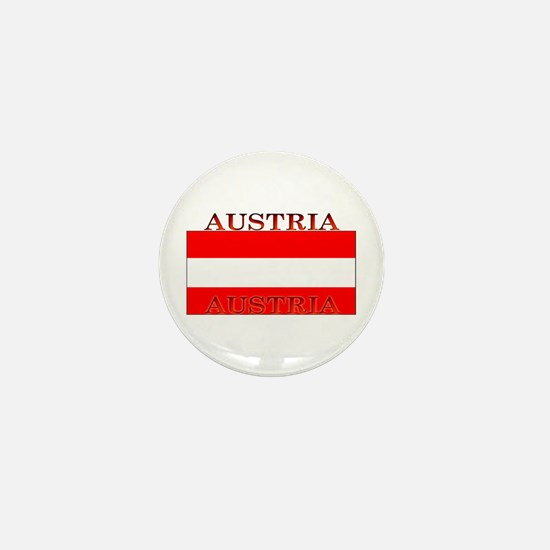 Austria Austrian Flag Mini Button
