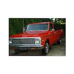 1971 Truck Rectangle Magnet