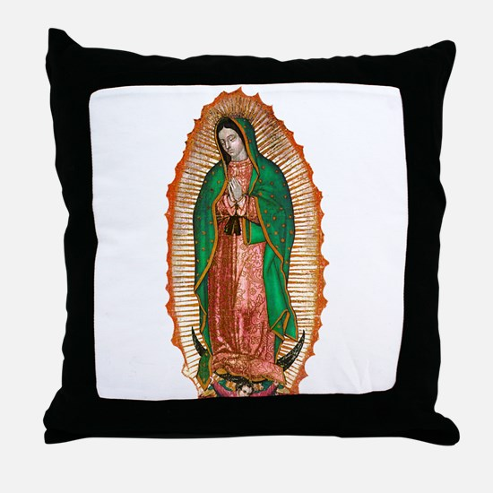 Unique Chicana Throw Pillow