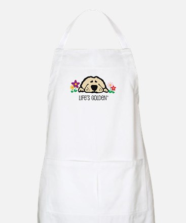 Life's Golden Spring BBQ Apron