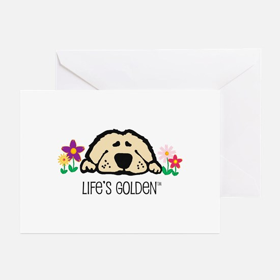 Life's Golden Spring Greeting Cards (Pk of 10)