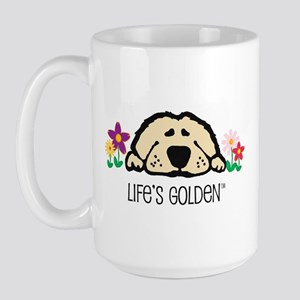 Life's Golden Spring Large Mug