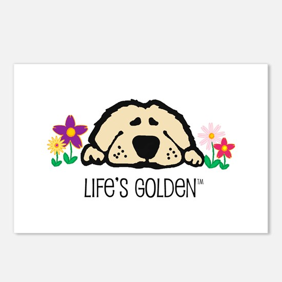 Life's Golden Spring Postcards (Package of 8)