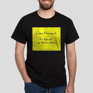 Lesson Plan Dark T-Shirt