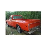 1971 C###y Truck Front & Rear Rectangle Magnet (10