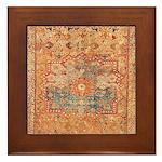 16th Century Framed Tile