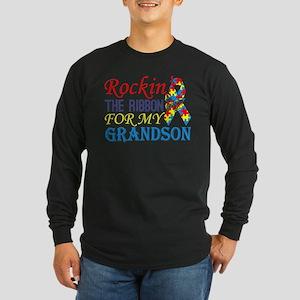Rockin The Ribbon For My Grand Long Sleeve T-Shirt