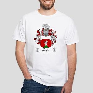 Trento Family Crest White T-Shirt