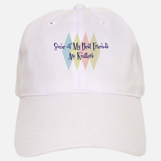 Knitters Friends Baseball Baseball Cap