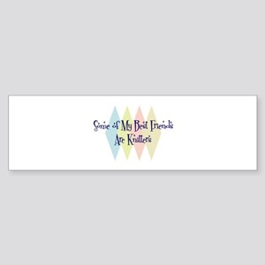 Knitters Friends Bumper Sticker
