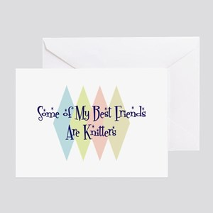 Knitters Friends Greeting Card