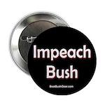 """""""Impeach Bush"""" Button"""
