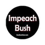 """""""Impeach Bush"""" 3.5"""" Button"""