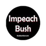 """""""Impeach Bush"""" 3.5"""" Button (100)"""