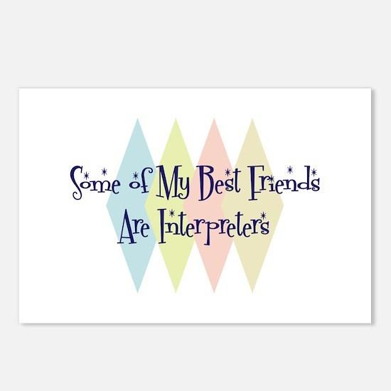 Interpreters Friends Postcards (Package of 8)