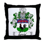 Turrini Family Crest Throw Pillow