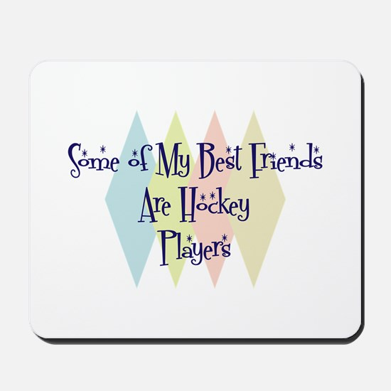 Hockey Players Friends Mousepad