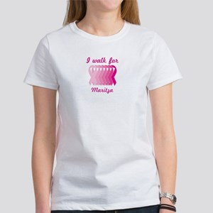 I walk for Maritza Women's T-Shirt