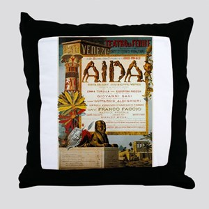 Aida Throw Pillow