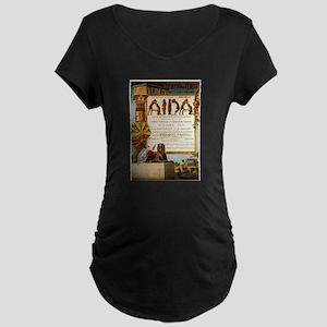 Aida Maternity Dark T-Shirt