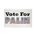 Vote for Palin - Sarah Palin Rectangle Magnet (100