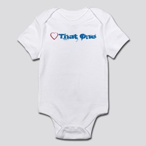 "Love Heart ""That One"" Obama Infant Bodysuit"
