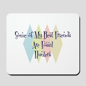 Fossil Hunters Friends Mousepad