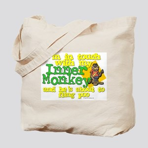 My Inner Monkey Tote Bag