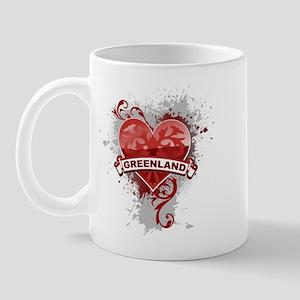 Heart Greenland Mug