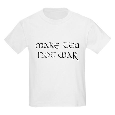 """""""Make tea not war"""" Kids T-Shirt"""