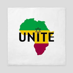Africa Unite Queen Duvet