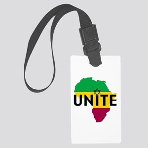 Africa Unite Large Luggage Tag