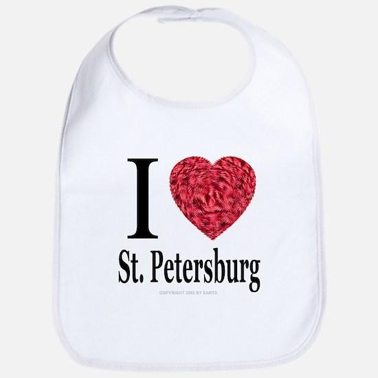 I Love St. Petersburg Bib