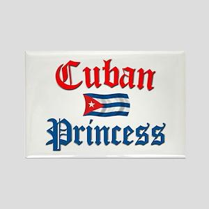 Cuban Princess II Rectangle Magnet