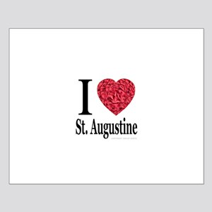 I Love St. Augustine Small Poster