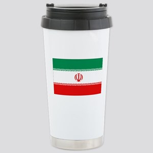 Iran Flag Stainless Steel Travel Mug