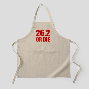 26.2 OR DIE BBQ Apron