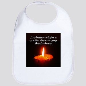 """Light a Candle"" Bib"