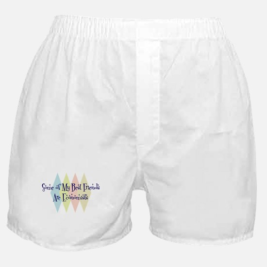 Economists Friends Boxer Shorts