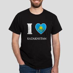 I Love Kazakhstan Dark T-Shirt