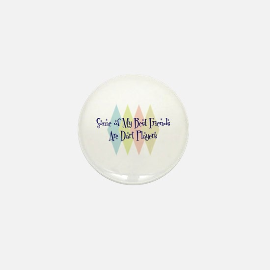 Dart Players Friends Mini Button