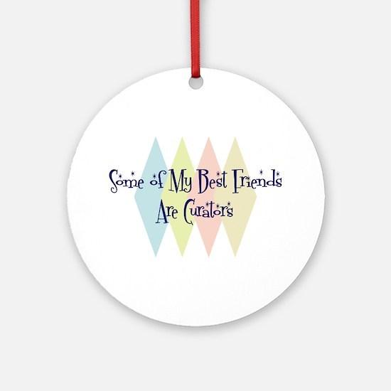 Curators Friends Ornament (Round)