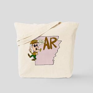 Arkansas Pride! Tote Bag