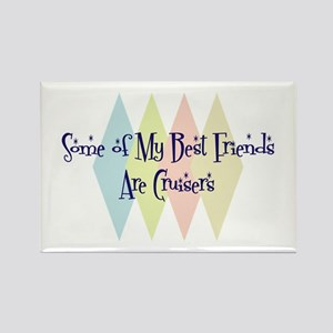 Cruisers Friends Rectangle Magnet