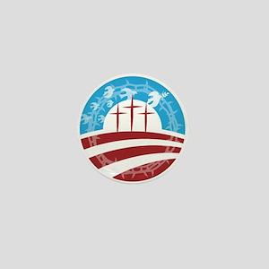 Christians for Obama Mini Button
