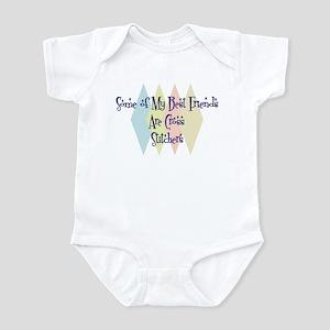 Cross Stitchers Friends Infant Bodysuit